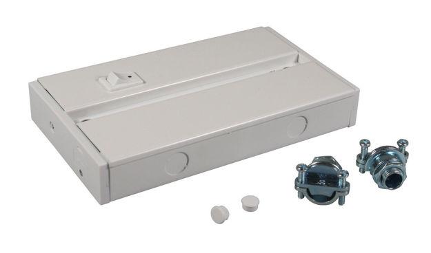 Picture of American Lighting ALC-BOX-WH   ALC Series White Hard Wire Box for ALC Series