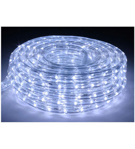 Picture of American Lighting LR-LED-CW-3 | 3' Cool White 6400K LED Flexible Rope Light Kit w/ Mounting Clips