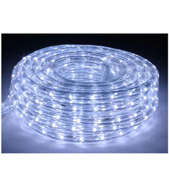 Picture of American Lighting LR-LED-CW-30 | 30' Cool White 6400K LED Flexible Rope Light Kit w/Clips