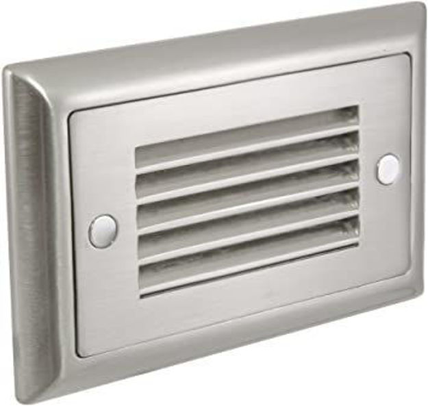 Picture of American Lighting SGL-HL-SS   Horizontal Louvre Faceplate Stainless Steel