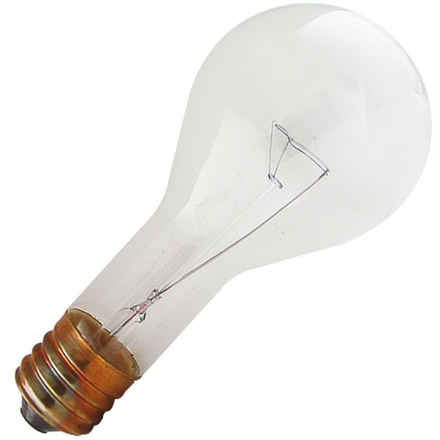 Picture of 200PS30 Bulb 200W 130V PS30 Incandescent Clear Mogul Base