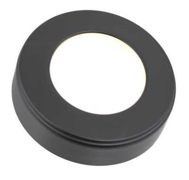 Picture of American Lighting OMNI-1-BK | Omni LED Puck Light 12V 3.2W 135 Lumens Black