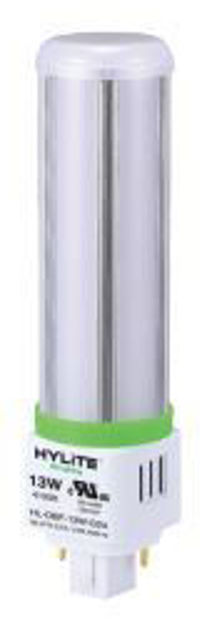 Picture of HyLite HL-OBF-13W-G24-27K | HyLite LED - Plug-in Omni-Bulb - 360