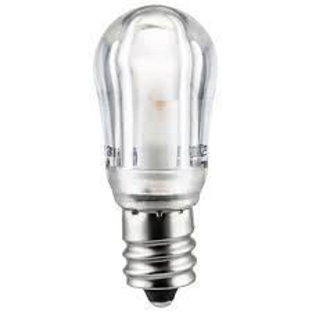 Picture of LED S6 CLEAR .6W CAN BASE 130V